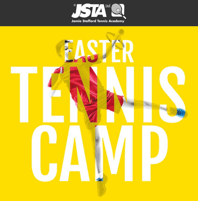 Easter Tennis Camp 2020 banner