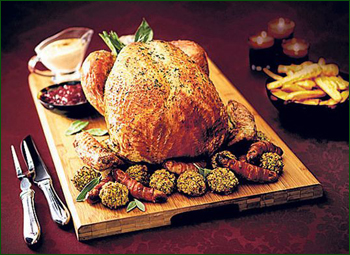 Win vouchers for a Christmas Turkey