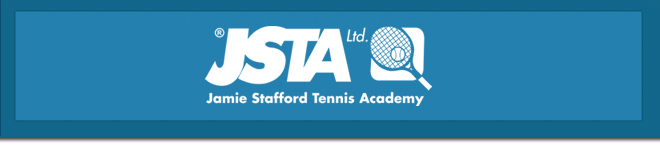 Banner with JSTA logo